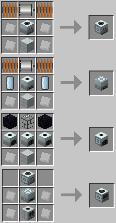 Industrial Craft Advanced Miner