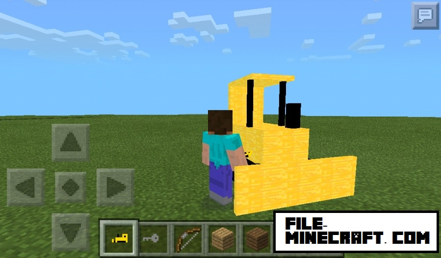 Bulldozer-mod-minecraft-pocket-edition-1.jpg