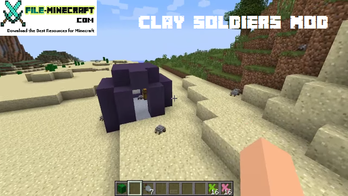 Clay Soldiers Mod 1.5.2