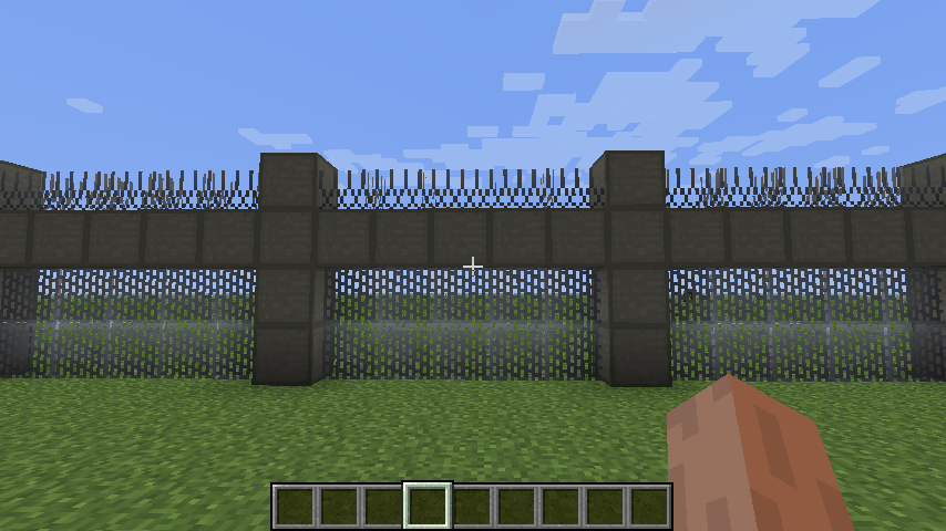 minecraft how to make a fence gate 1.7.10