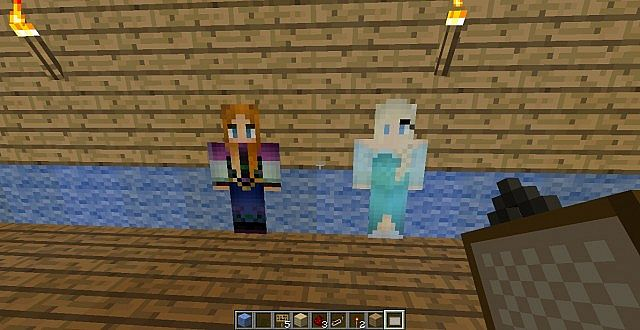 Disney Frozen Adventure Map for Minecraft - File-Minecraft.com
