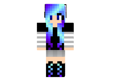 Electric Disco Girl Skin File Minecraftcom