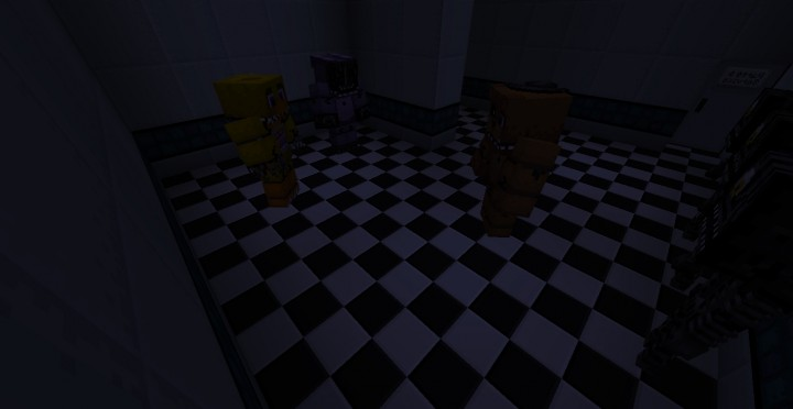 FNAF2 Resource Pack by Legoskeleton - File-Minecraft com