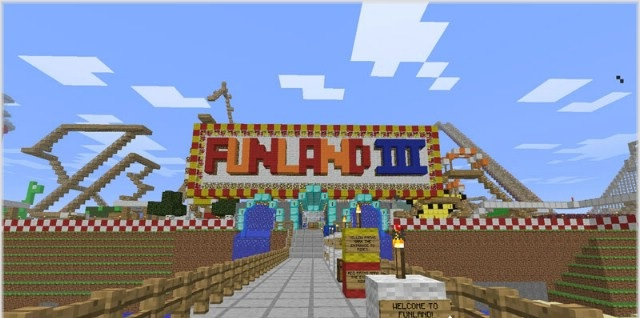 FunLand 3 Map for Minecraft  FileMinecraftcom