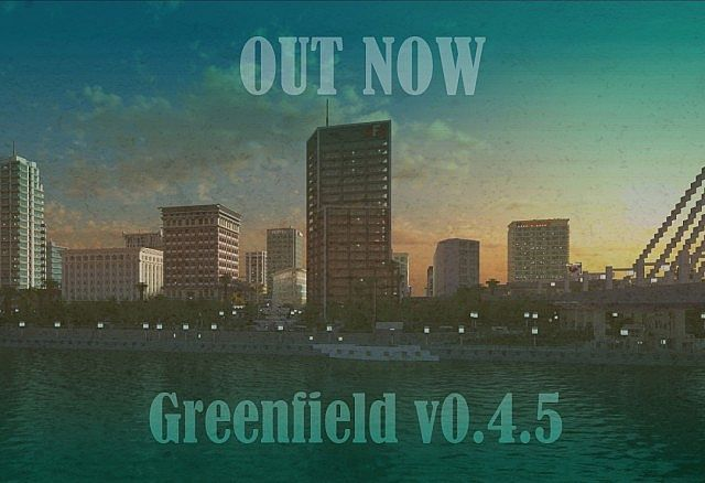 Greenfield Map for Minecraft - File-Minecraft com