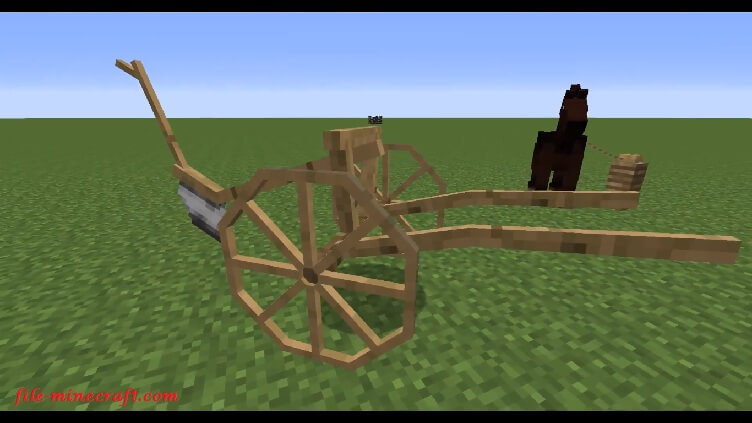 Horse Carts Mod 1 12 2/1 11 2/1 10 2 - File-Minecraft com