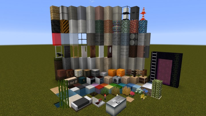 Huntington city modern realistic resource pack 1 8 9 1 8 1 7 10