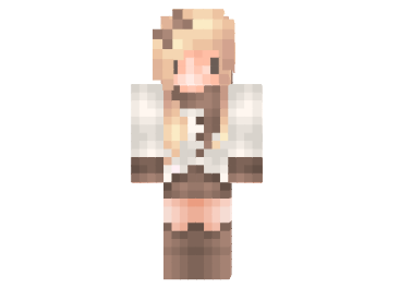 Kawaii Winter Girl Skin FileMinecraftcom - Skin para minecraft pe kawaii