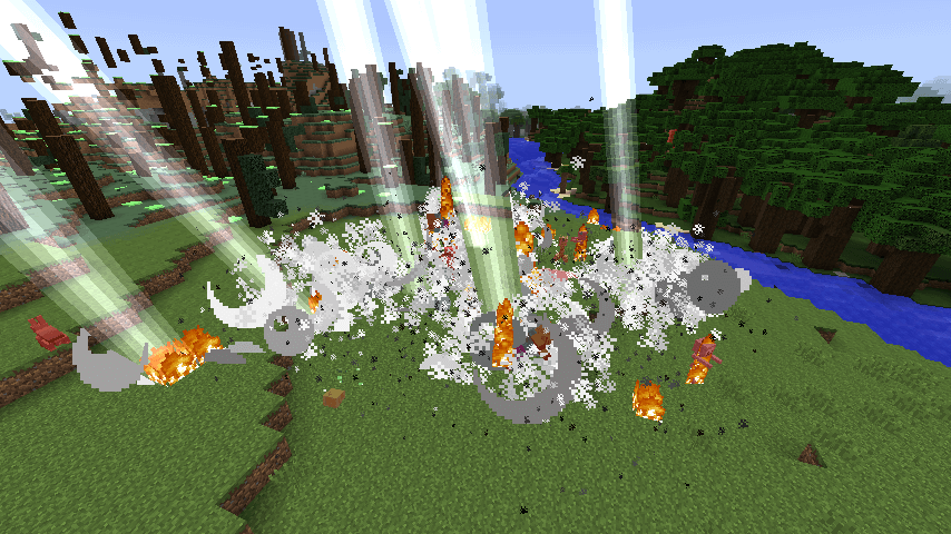 Too Much TNT lightning