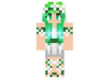 Nature Girl Skin FileMinecraftcom - Skins para minecraft pe para mujer