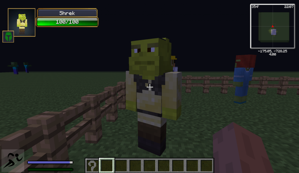 Minecraft Com The Game : Shrekcraft mod