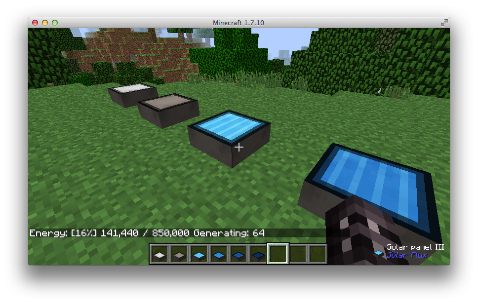 minecraft how to produce forge energy