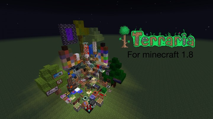 Terraria themed resource pack 1 8 9 1 8 1 7 10 file minecraft com