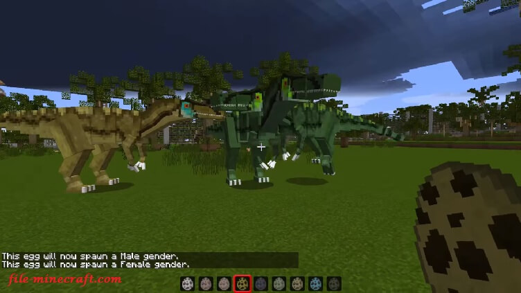 JurassiCraft Mod for Minecraft 1 13/1 12 2/1 11 2 - File-Minecraft com