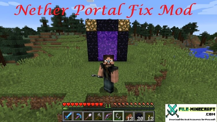 Nether Portal Fix Mod